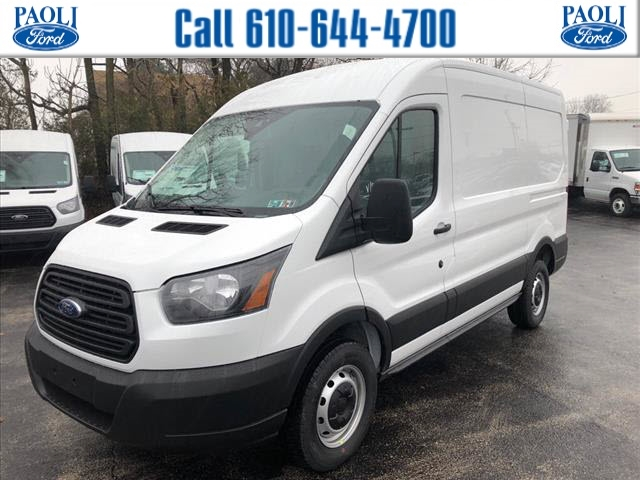 2019 Transit 250 Med Roof 4x2,  Sortimo Upfitted Cargo Van #T19098 - photo 1