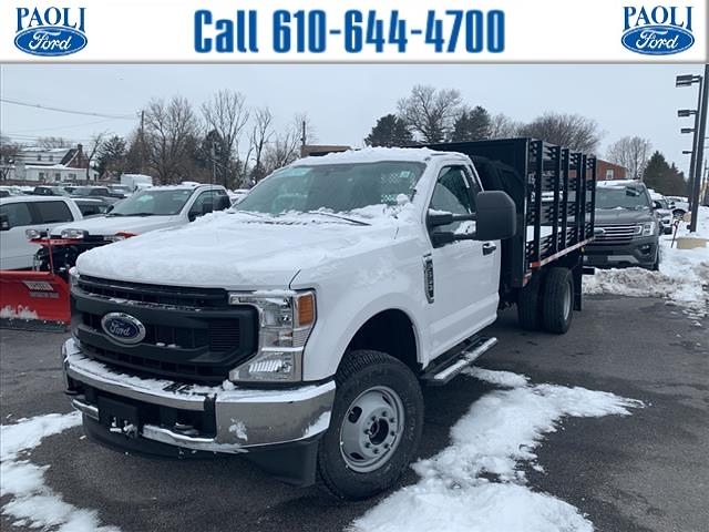 2021 Ford F-350 Regular Cab DRW 4x4, Morgan Stake Bed #T21154 - photo 1