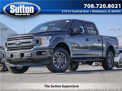 2018 F-150 SuperCrew Cab 4x4, Pickup #F36504 - photo 1