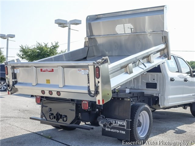 2018 F-550 Crew Cab DRW 4x4,  Rugby Eliminator LP Stainless Steel Dump Body #F36538 - photo 10
