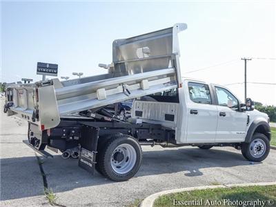 2018 F-550 Crew Cab DRW 4x4,  Rugby Eliminator LP Stainless Steel Dump Body #F36538 - photo 2