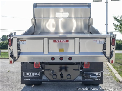 2018 F-550 Crew Cab DRW 4x4,  Rugby Eliminator LP Stainless Steel Dump Body #F36538 - photo 6