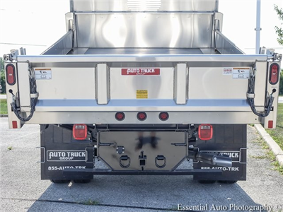 2018 F-550 Crew Cab DRW 4x4,  Rugby Eliminator LP Stainless Steel Dump Body #F36538 - photo 7