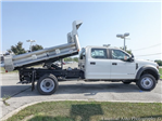 2018 F-550 Crew Cab DRW 4x4,  Rugby Eliminator LP Stainless Steel Dump Body #F36538 - photo 11