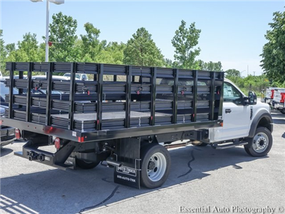 2018 F-450 Regular Cab DRW,  Auto Truck Group Stake Bed #F56920 - photo 2