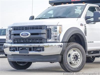 2019 F-450 Regular Cab DRW 4x4,  Rugby Contractor Dump Body #K00013 - photo 3