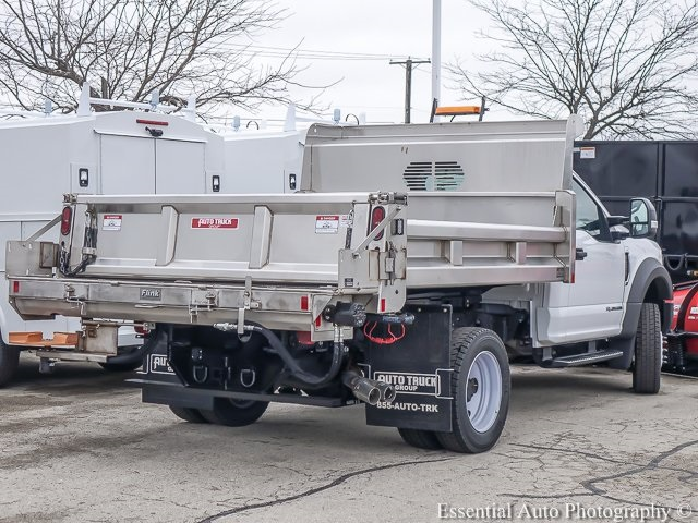2019 F-550 Regular Cab DRW 4x4,  Rugby Dump Body #K00386 - photo 2