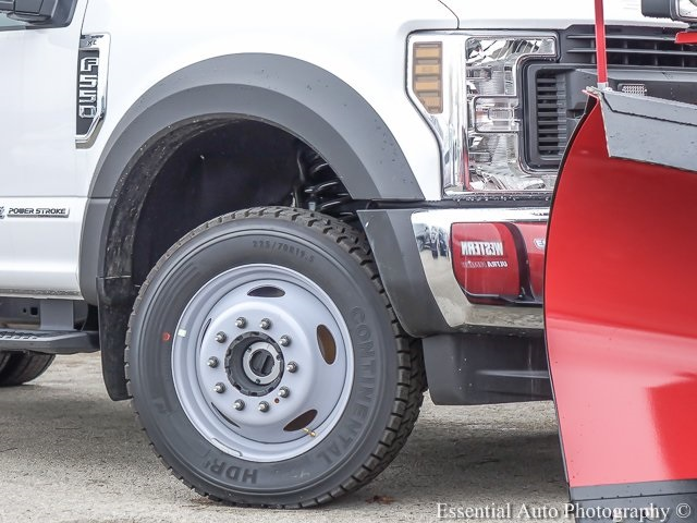2019 F-550 Regular Cab DRW 4x4,  Rugby Eliminator LP Stainless Steel Dump Body #K00386 - photo 5