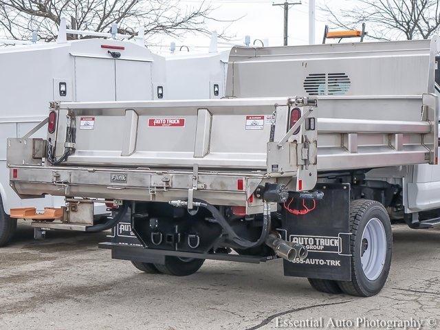 2019 F-550 Regular Cab DRW 4x4,  Rugby Eliminator LP Stainless Steel Dump Body #K00386 - photo 9