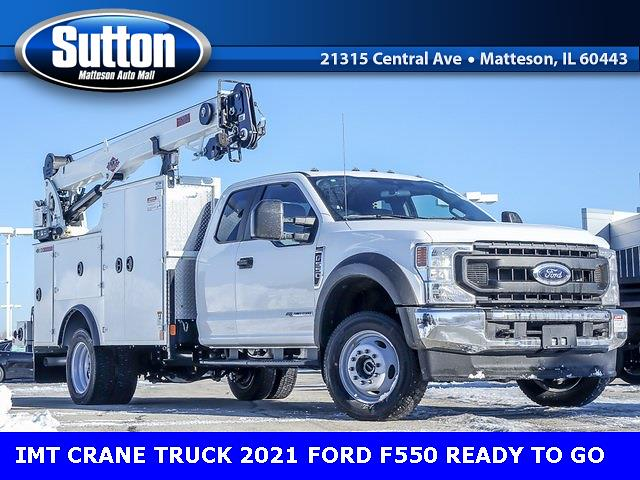 2021 Ford F-550 Super Cab DRW 4x4, Iowa Mold Tooling Mechanics Body #K01855 - photo 1