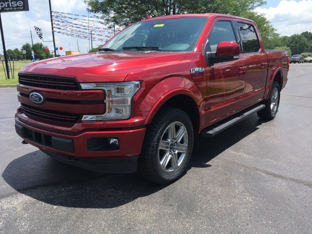 2018 F-150 SuperCrew Cab 4x4,  Pickup #57760T - photo 4