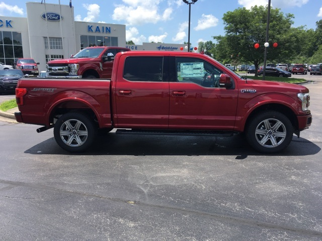 2018 F-150 SuperCrew Cab 4x4,  Pickup #57760T - photo 2