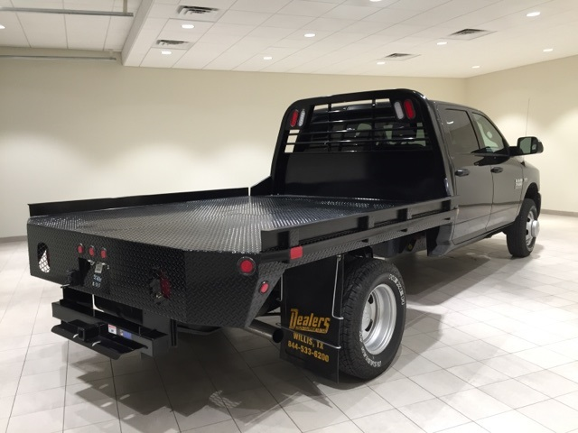 2017 Ram 3500 Crew Cab DRW 4x4,  CM Truck Beds Platform Body #D1753 - photo 7