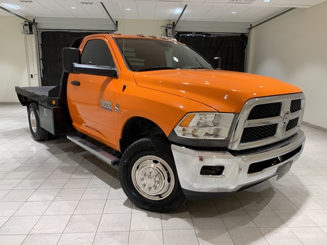 2014 Ram 3500 Regular Cab DRW 4x4, CM Truck Beds Platform Body #D2004B - photo 1