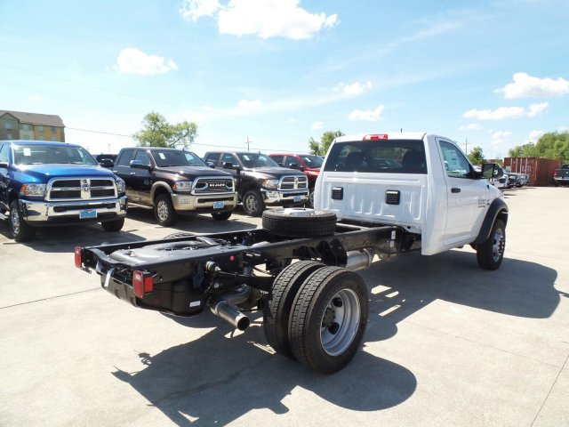 2017 Ram 4500 Regular Cab DRW Cab Chassis #HG668180 - photo 2