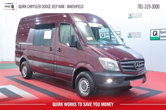 2014 Mercedes-Benz Sprinter 2500 RWD, Upfitted Cargo Van #D10716A - photo 1