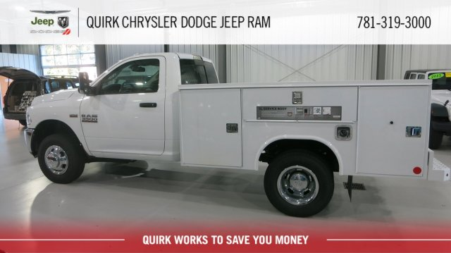 2016 Ram 3500 Regular Cab DRW 4x4,  Reading SL Service Body #D5099 - photo 2