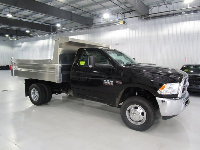 2017 Ram 3500 Regular Cab DRW 4x4, Duramag Dump Dump Body #D5390 - photo 1