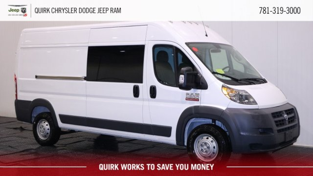 2018 ProMaster 2500 High Roof 4x2,  Empty Cargo Van #D7161 - photo 1