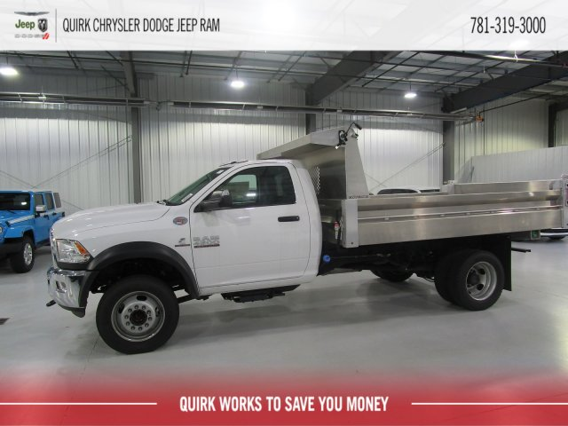2018 Ram 4500 Regular Cab DRW 4x4,  Duramag Dump Body #D7190 - photo 6