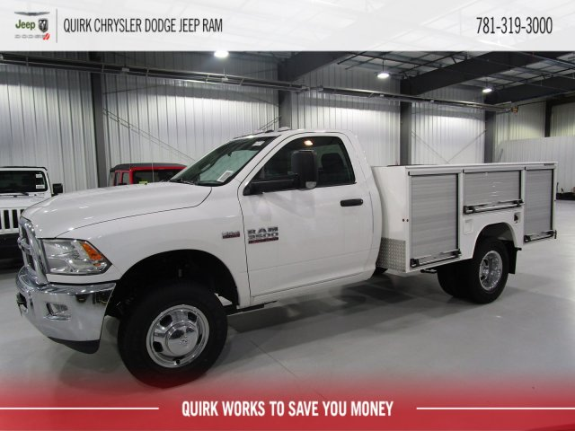 2018 Ram 3500 Regular Cab DRW 4x4,  Duramag Service Body #D7192 - photo 3
