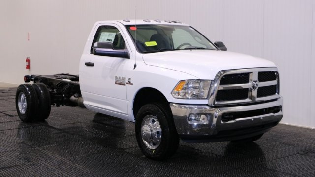 2018 Ram 3500 Regular Cab DRW 4x4, Cab Chassis #D7318 - photo 1