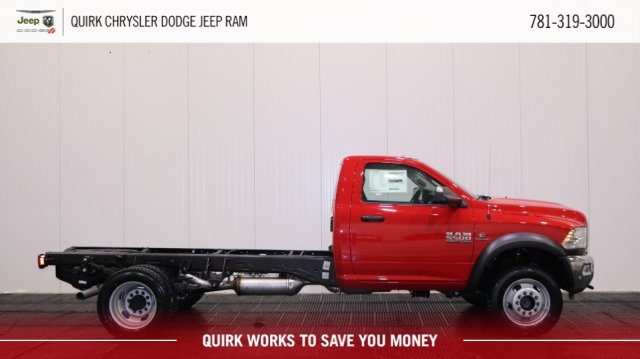 2018 Ram 5500 Regular Cab DRW 4x4,  Cab Chassis #D7596 - photo 3