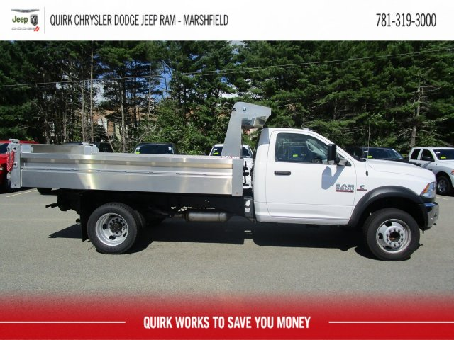 2018 Ram 5500 Regular Cab DRW 4x4,  Duramag Dump Body #D7609 - photo 4