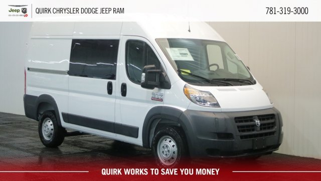 2018 ProMaster 1500 High Roof FWD,  Empty Cargo Van #D8249 - photo 1