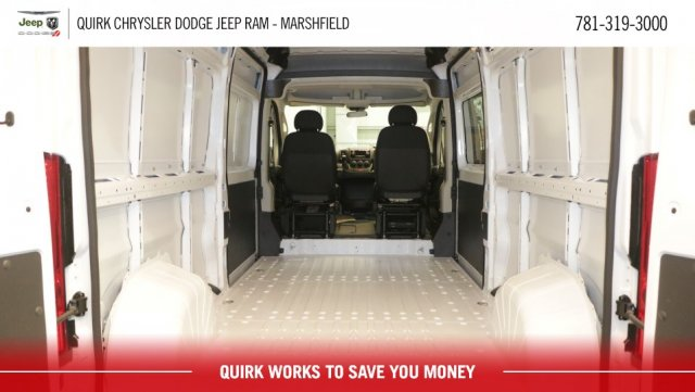 2018 ProMaster 2500 High Roof FWD,  Empty Cargo Van #D8279 - photo 2