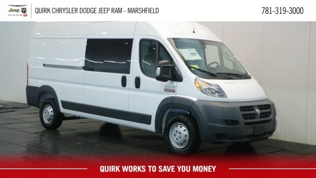 2018 ProMaster 2500 High Roof FWD,  Empty Cargo Van #D8289 - photo 1
