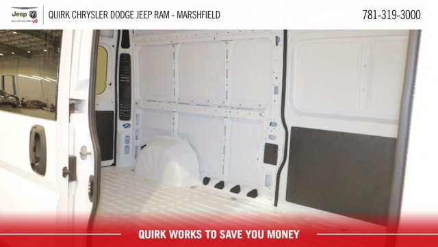 2018 ProMaster 2500 High Roof FWD,  Empty Cargo Van #D8298 - photo 6