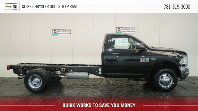 2018 Ram 3500 Regular Cab DRW 4x4,  Cab Chassis #D9007 - photo 3