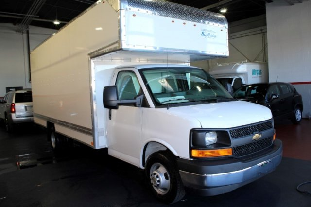 2017 Express 3500, Bay Bridge Bay Bridge FRP Cutaway Van #M26574 - photo 1