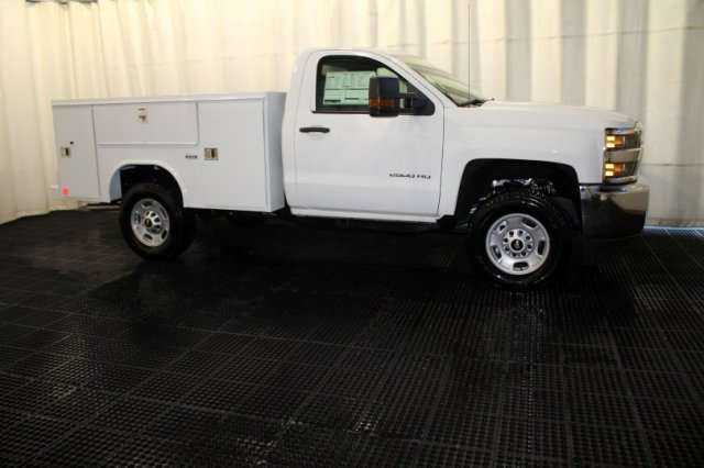 2017 Silverado 2500 Regular Cab 4x4, Reading SL Service Body Service Body #M26587 - photo 3