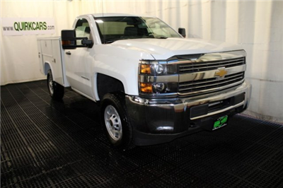 2017 Silverado 2500 Regular Cab 4x4, Reading SL Service Body Service Body #M26587 - photo 1