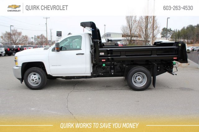 2018 Silverado 3500 Regular Cab DRW 4x4,  Rugby Dump Body #M26604 - photo 3