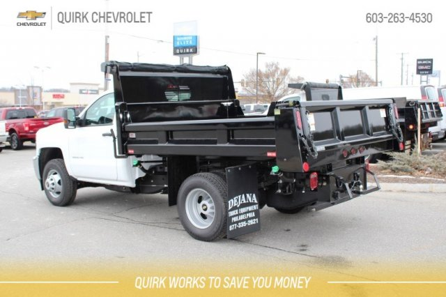2018 Silverado 3500 Regular Cab DRW 4x4,  Rugby Dump Body #M26604 - photo 2