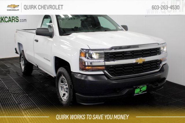 2018 Silverado 1500 Regular Cab 4x4,  Pickup #M27733 - photo 1