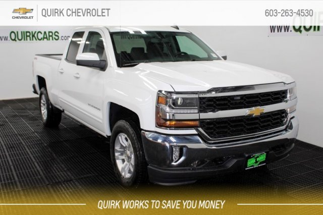 2018 Silverado 1500 Double Cab 4x4,  Pickup #M27876 - photo 1