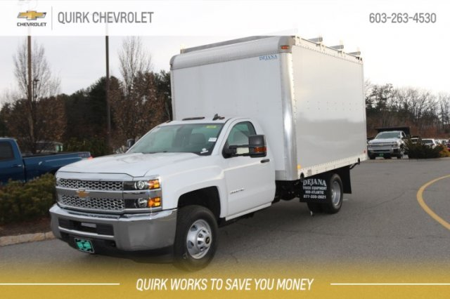 2019 Silverado 3500 Regular Cab DRW 4x4,  Dejana Dry Freight #M28806 - photo 1