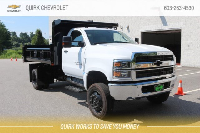 2019 Silverado Medium Duty Regular Cab DRW 4x4,  Rugby Dump Body #M30497 - photo 1