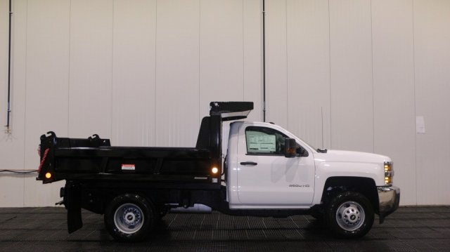 2017 Silverado 3500 Regular Cab DRW 4x4, Dump Body #C57039 - photo 3