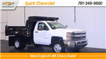 2017 Silverado 3500 Regular Cab DRW 4x4, Dump Body #C57039 - photo 1