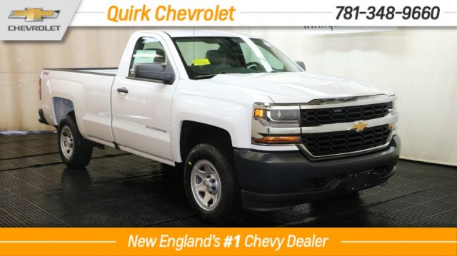 2018 Silverado 1500 Regular Cab 4x4 Pickup #C57452 - photo 1