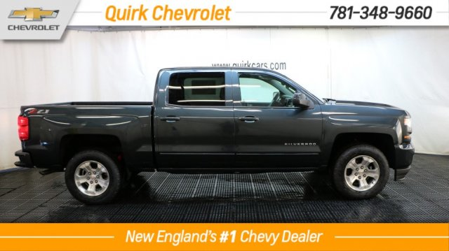 2018 Silverado 1500 Crew Cab 4x4, Pickup #C58053 - photo 3