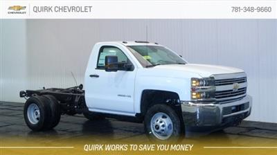 2018 Silverado 3500 Regular Cab DRW 4x4,  Cab Chassis #C59160 - photo 1