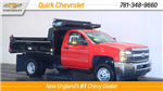 2018 Silverado 3500 Regular Cab DRW 4x4, Dump Body #C59252 - photo 1