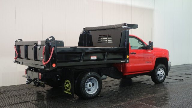 2018 Silverado 3500 Regular Cab DRW 4x4, Dump Body #C59742 - photo 2