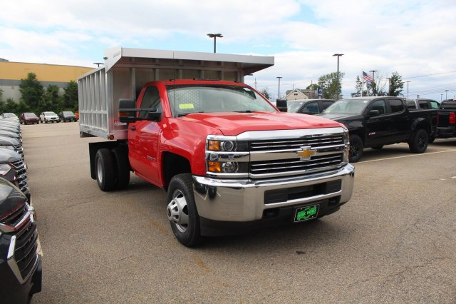 2018 Silverado 3500 Regular Cab DRW 4x4,  Landscape Dump #C59794 - photo 9
